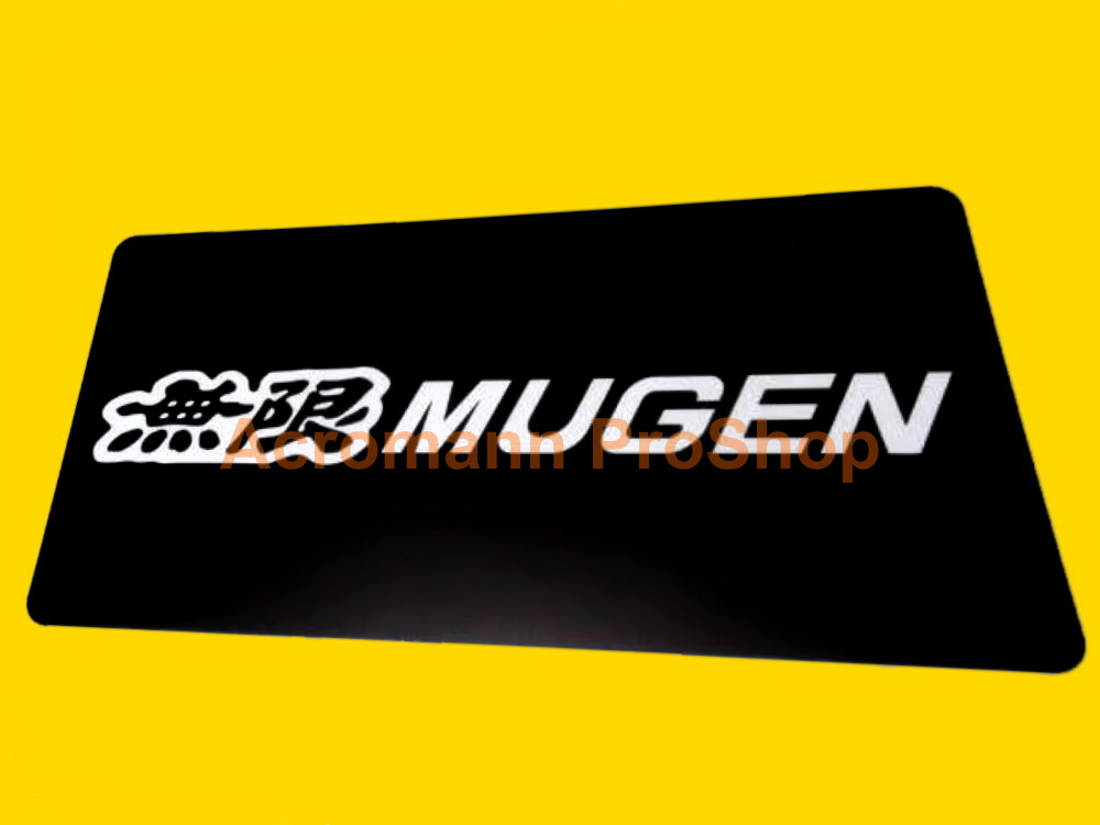 MUGEN JDM Vanity Personalized License Licence Number Plate #3 x1