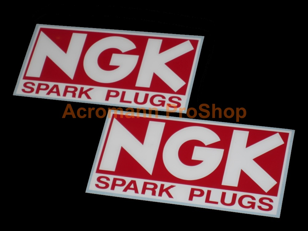 NGK 6inch Decal (Style#3) x 2 pcs