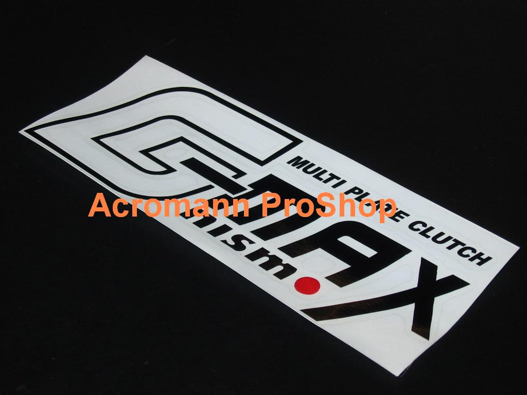 Nismo G-MAX 6inch decal x 2 pcs