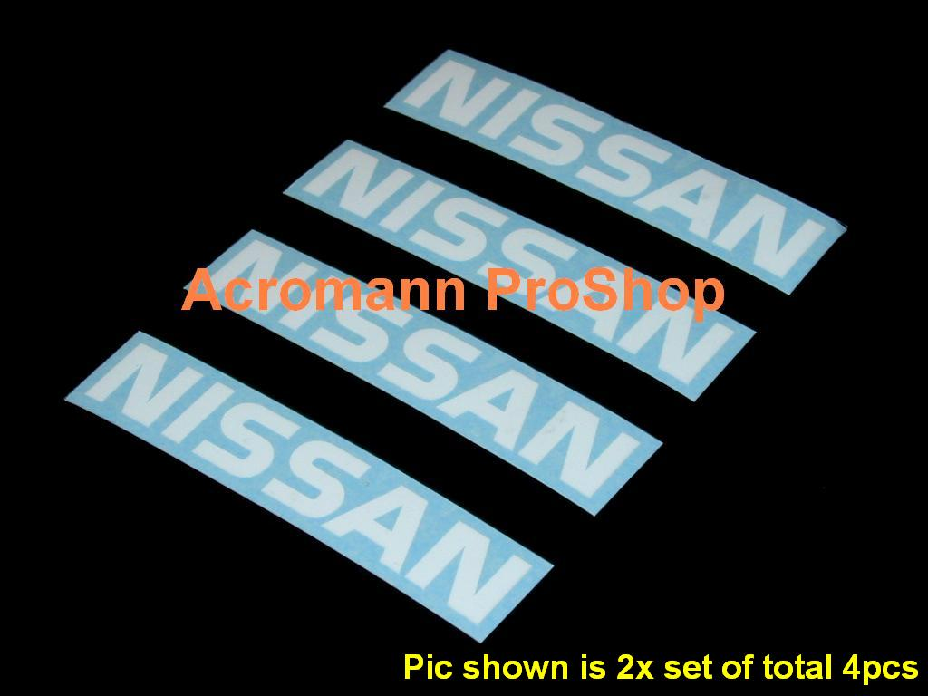 NISSAN 3inch Brake Caliper Decal (Style#1) x 2 pcs