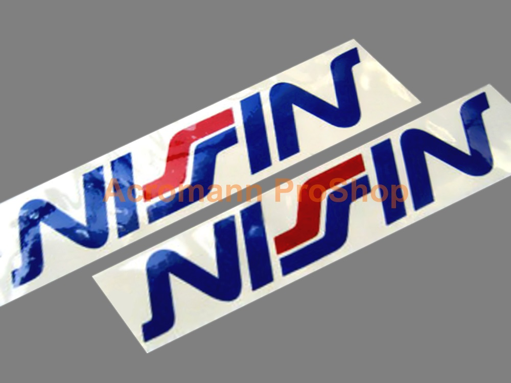 NISSIN 6inch decal (Style#1) x 2 pcs