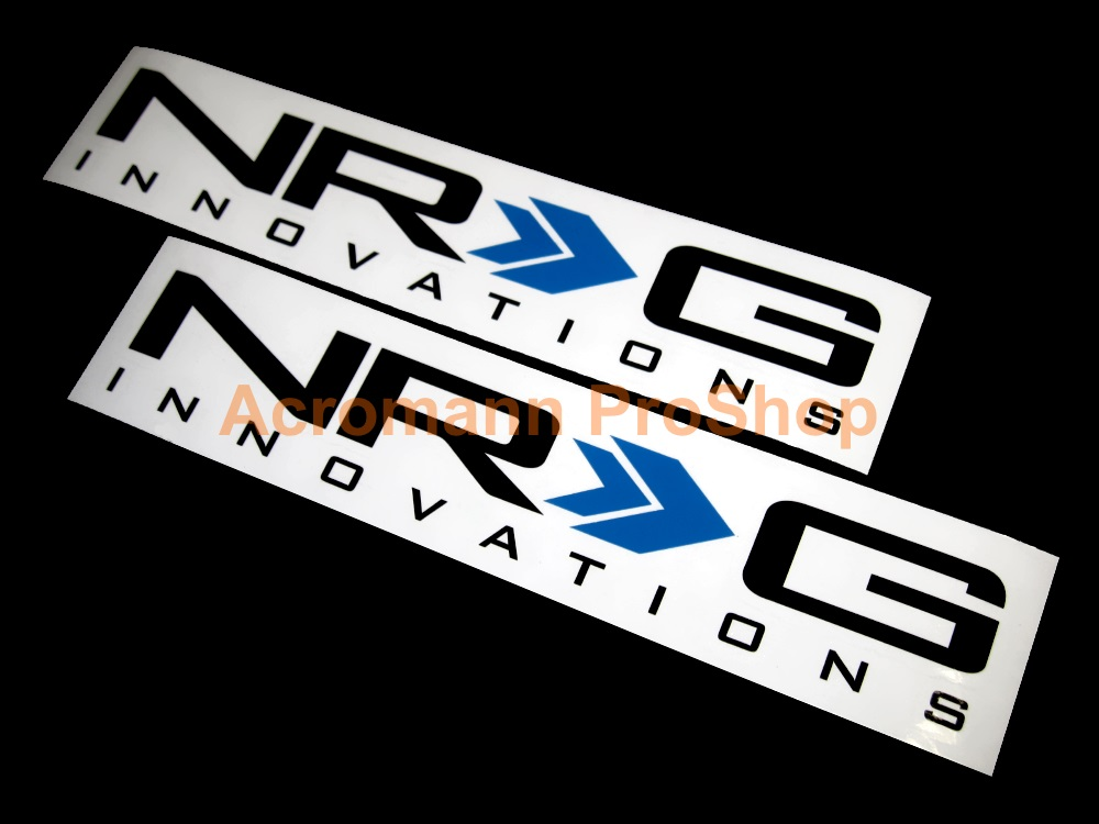 NRG Innovations 6inch Decal (Style#1) x 2 pcs