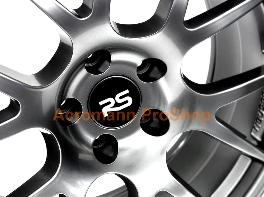 Neuspeed RS 2.2inch Wheel Cap Decal x 4 pcs
