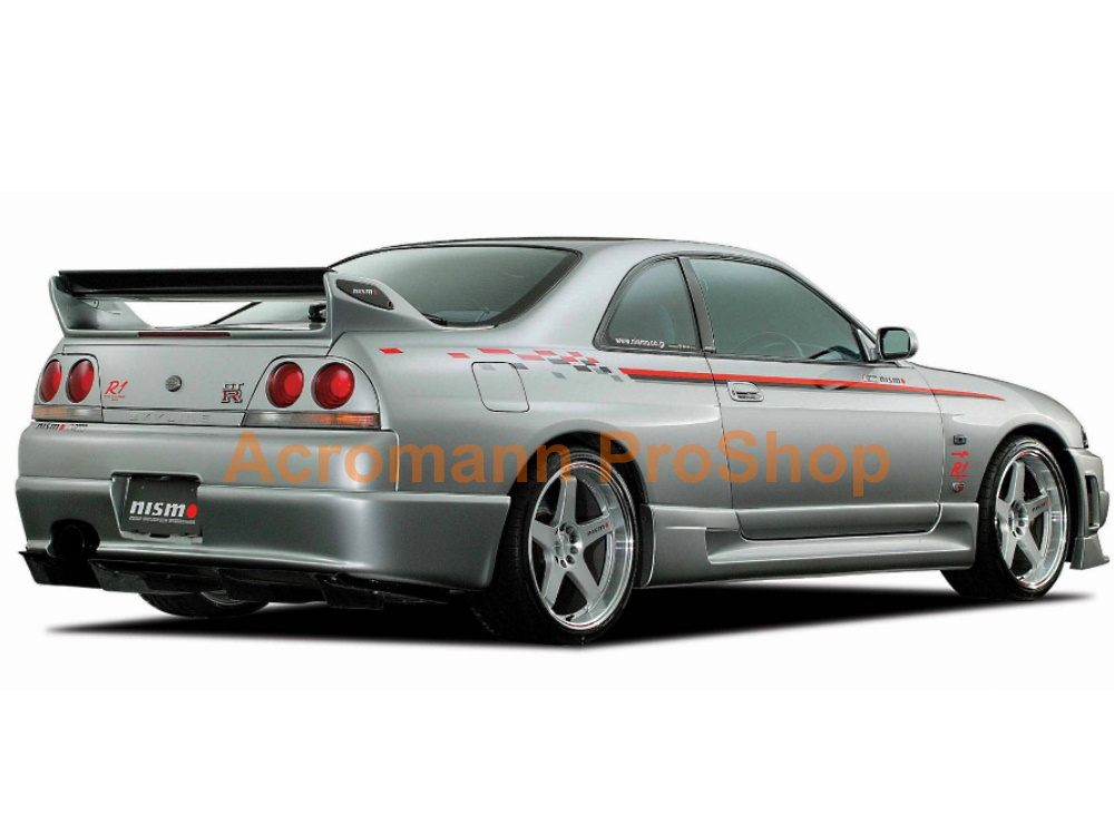 NISMO Skyline GTR R33 S Z R-tune Side Stripes Decals Sticker x 2