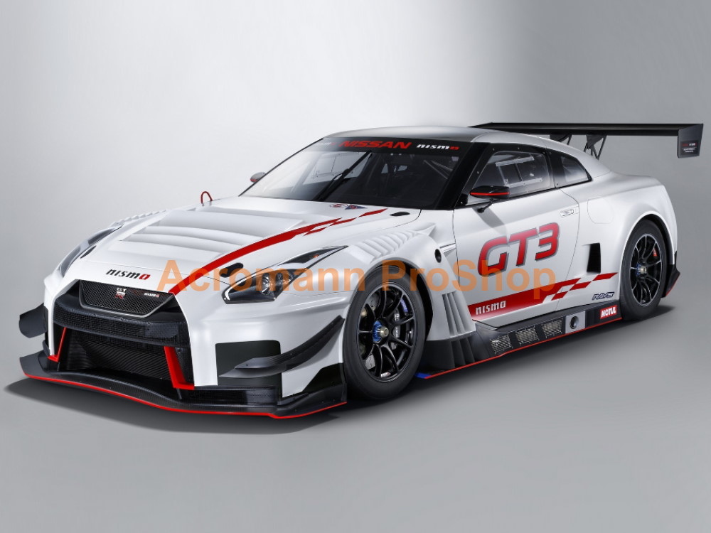 NISMO Nissan GTR R35 GT3 '18-19 Side Stripes Door Decals Sticker