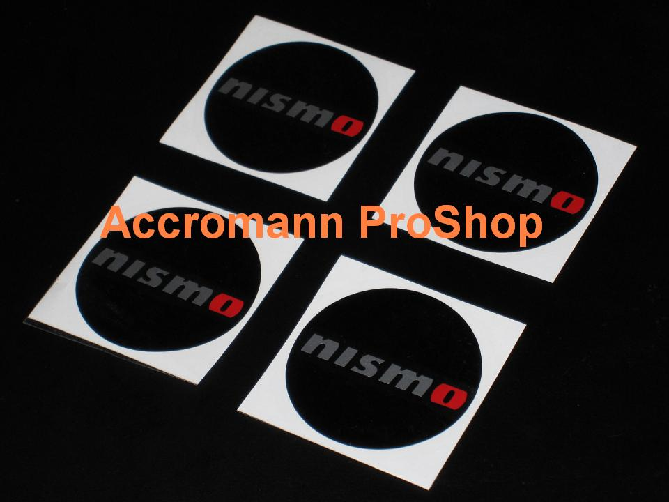 NISMO 2.2inch Wheel Cap Decal (Style#2) x 4 pcs