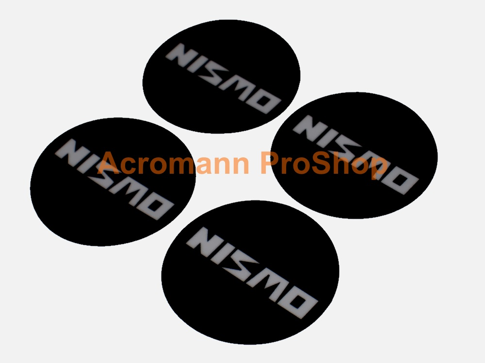 NISMO 2.2inch Wheel Cap Decal (Style#3) x 4 pcs