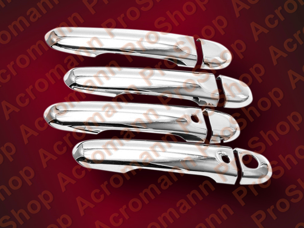 Chrome Door Handle Cover for Nissan JUKE WITH SMART KEYHOLES