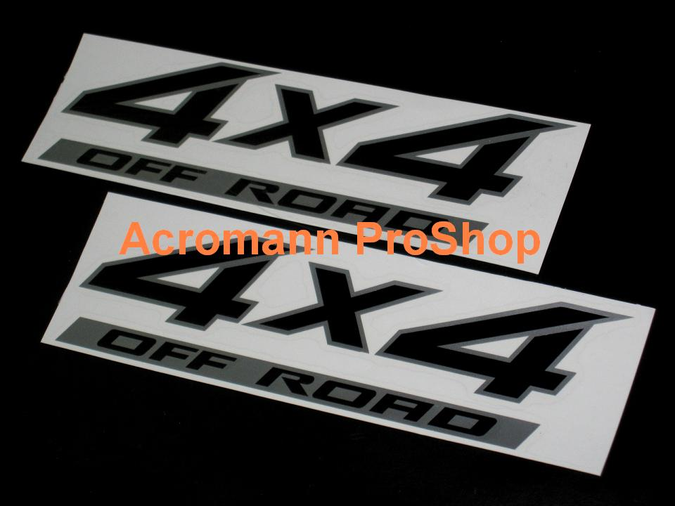 Nissan Titan 4x4 OFF ROAD 14inch decal x 2 pcs