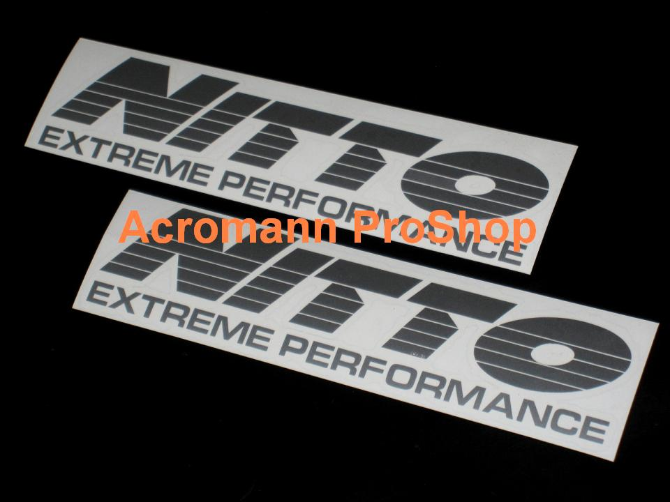 NITTO 6inch Decal x 2 pcs