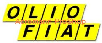 OLIO FIAT 6inch Decal x 2 pcs