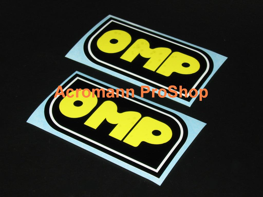 OMP 4inch Decal (Style#1) x 2 pcs