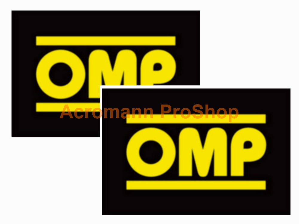 OMP 4inch Decal (Style#3) x 2 pcs
