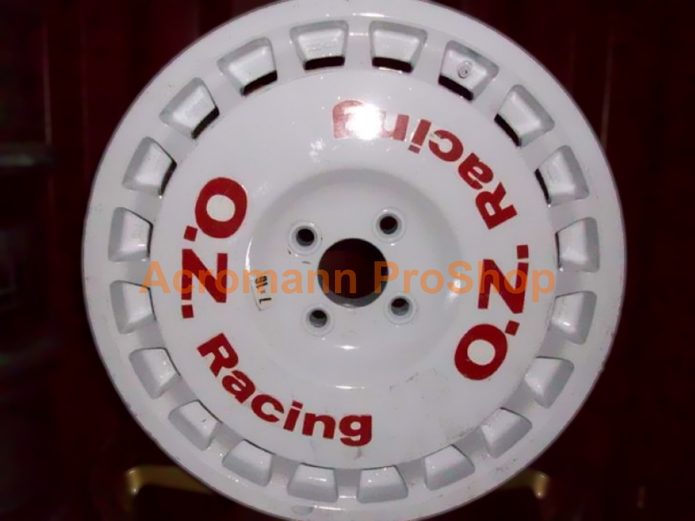 OZ Racing (O.Z) Rally 9.5inch curved Alloy Wheel Decal(#3) x4pcs