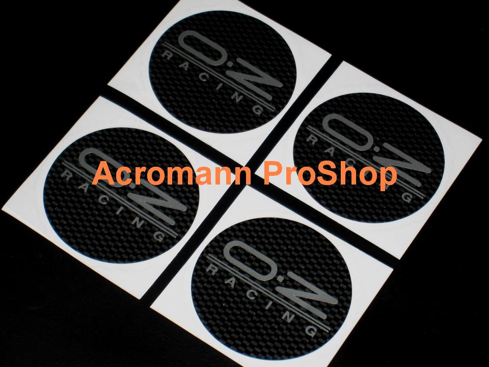OZ Racing (O.Z) 2.2inch Wheel Cap Decal (Style#2) x 4 pcs