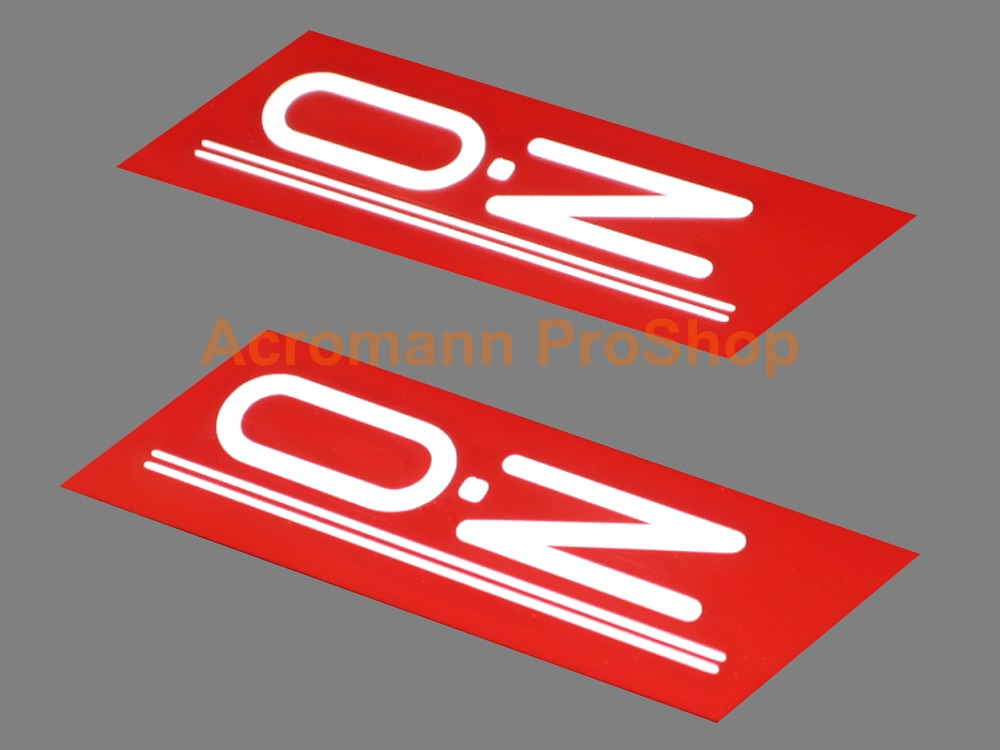 OZ (O.Z) 6inch Decal (Style#1) x 2 pcs