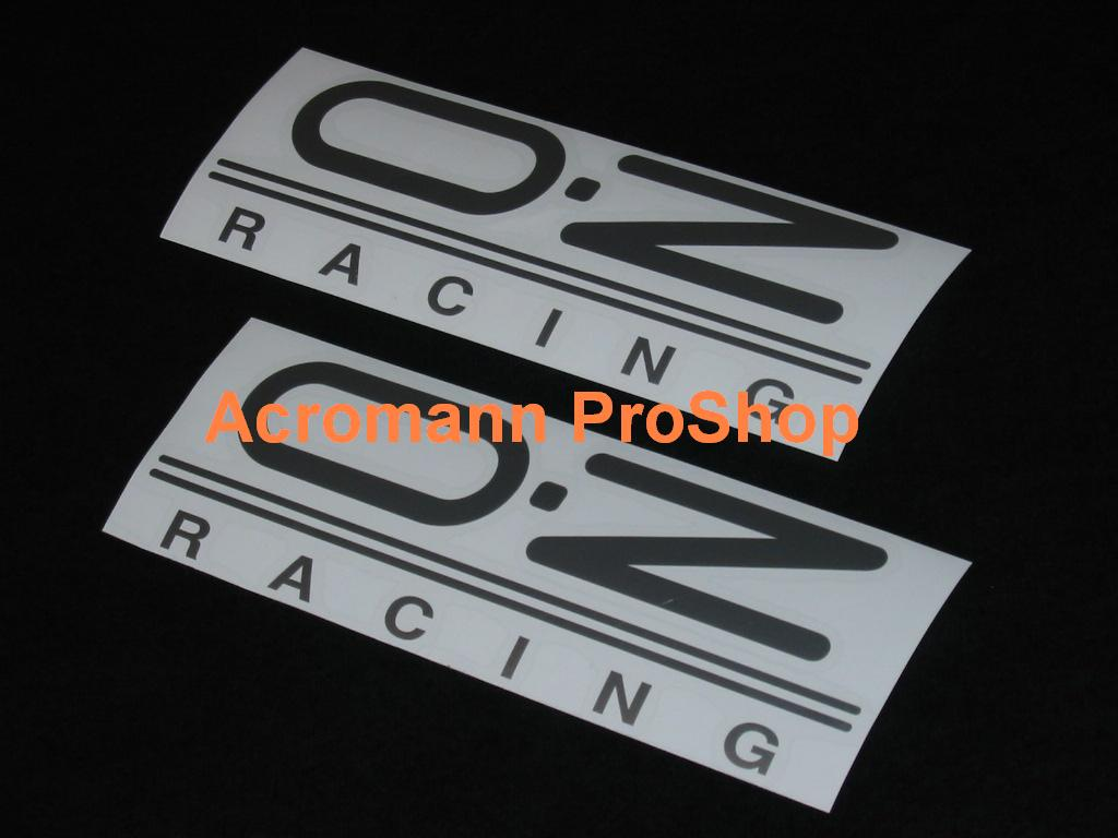 OZ Racing (O.Z) 6inch Decal x 2 pcs