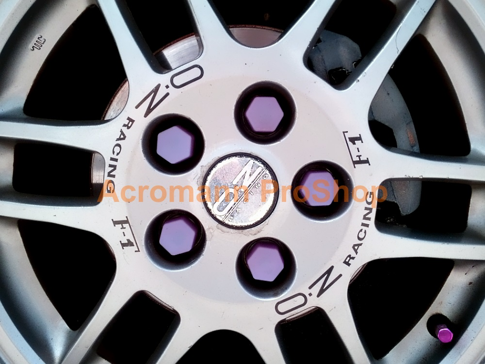 OZ Racing F1 (O.Z) 5inch curved Alloy Wheel Decal x 4pcs