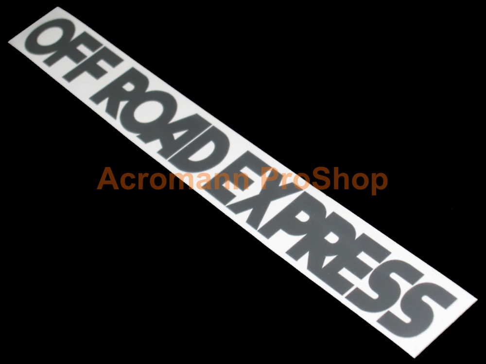 Off Road Express Windshield Decal (Style#1)