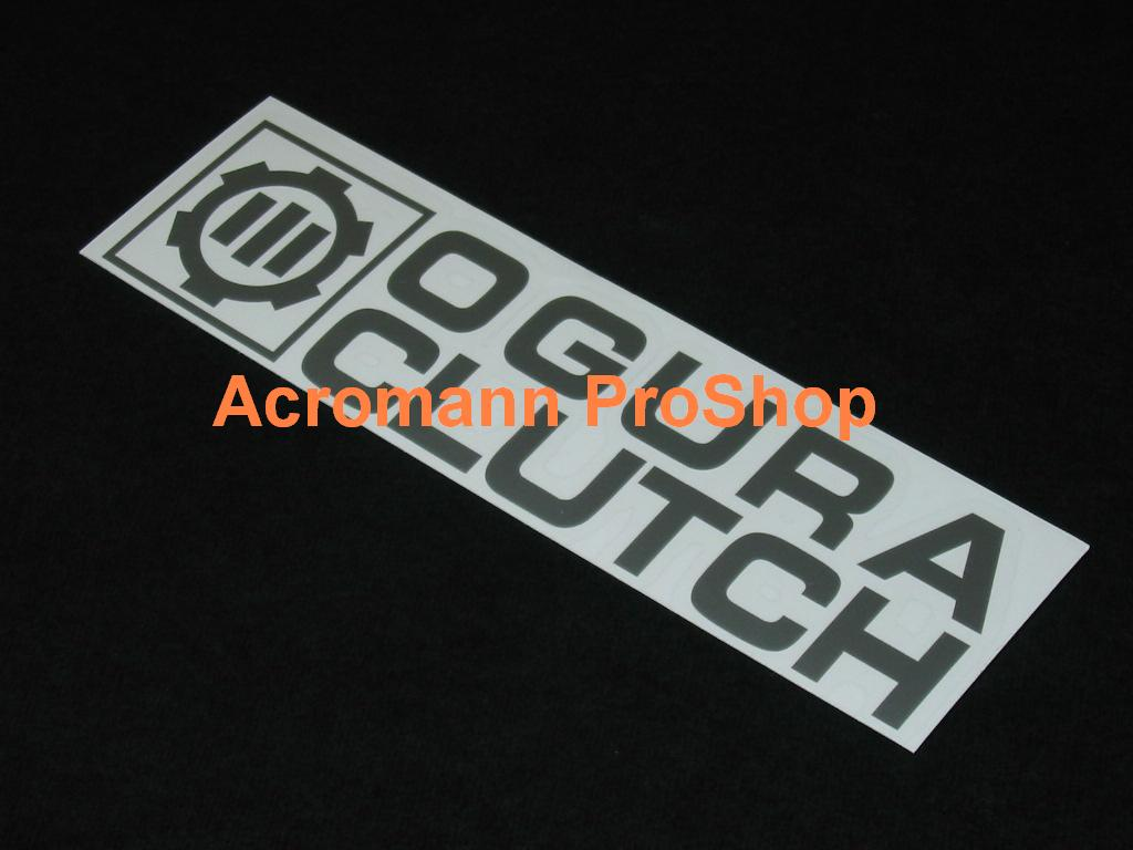 ORC Ogura Clutch (Style#2) 6inch Decal x 2 pcs