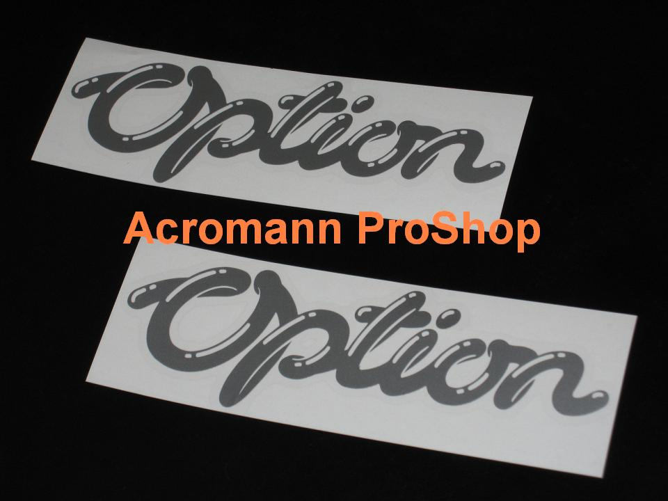 Option magazine 6inch Decal (Style#1) x 2 pcs