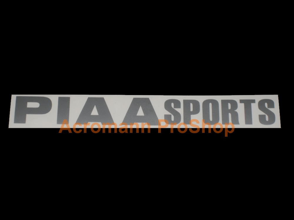 PIAA Sports Windshield Decal