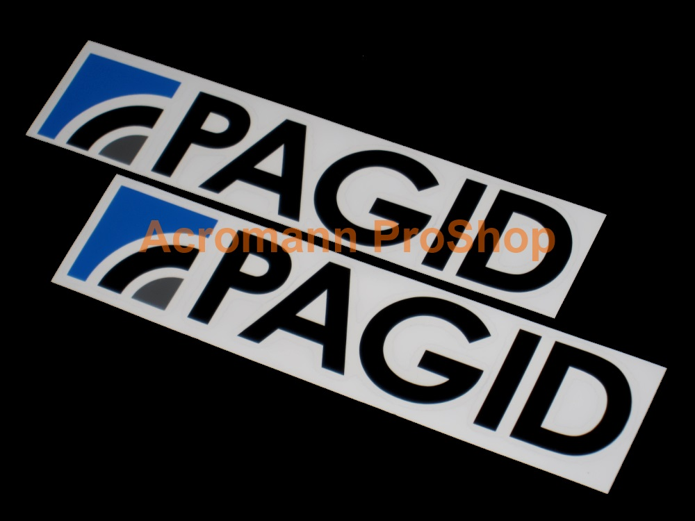 Pagid 6inch Decal x 2 pcs