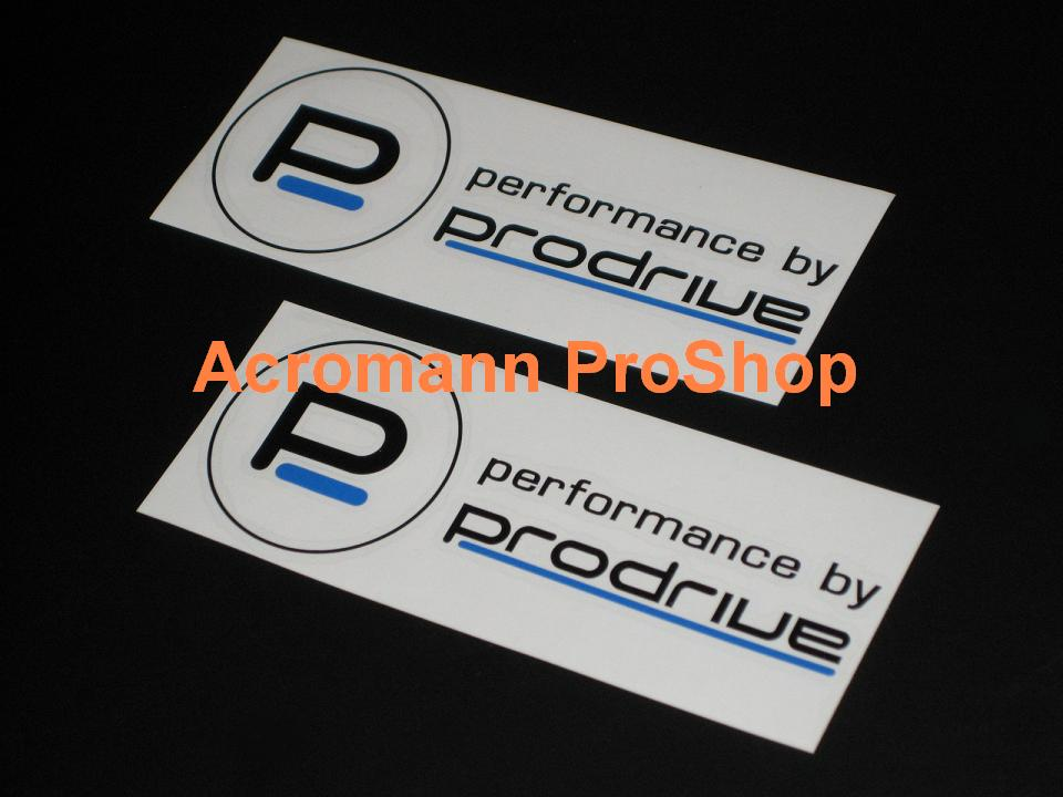 Prodrive 6inch Decal (Style#3) x 2 pcs