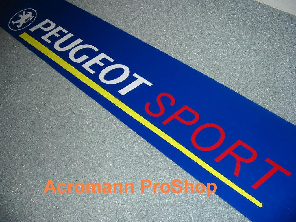 Peugeot Sport Windshield Decal (Style#1)