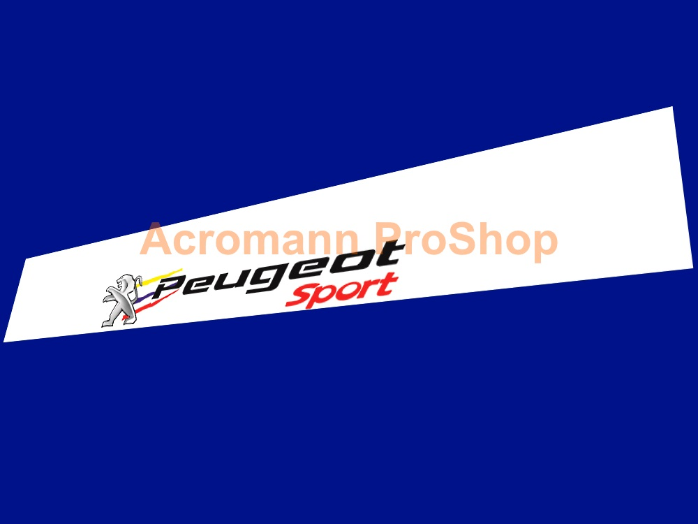 Peugeot Sport Windshield Decal (Style#4)