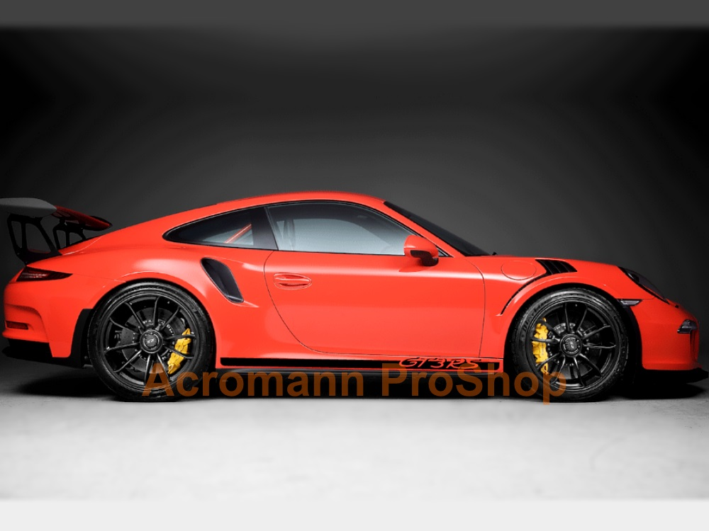 Porsche 911 991 992 GT3 RS Side Stripes Door Decals (Style#5)