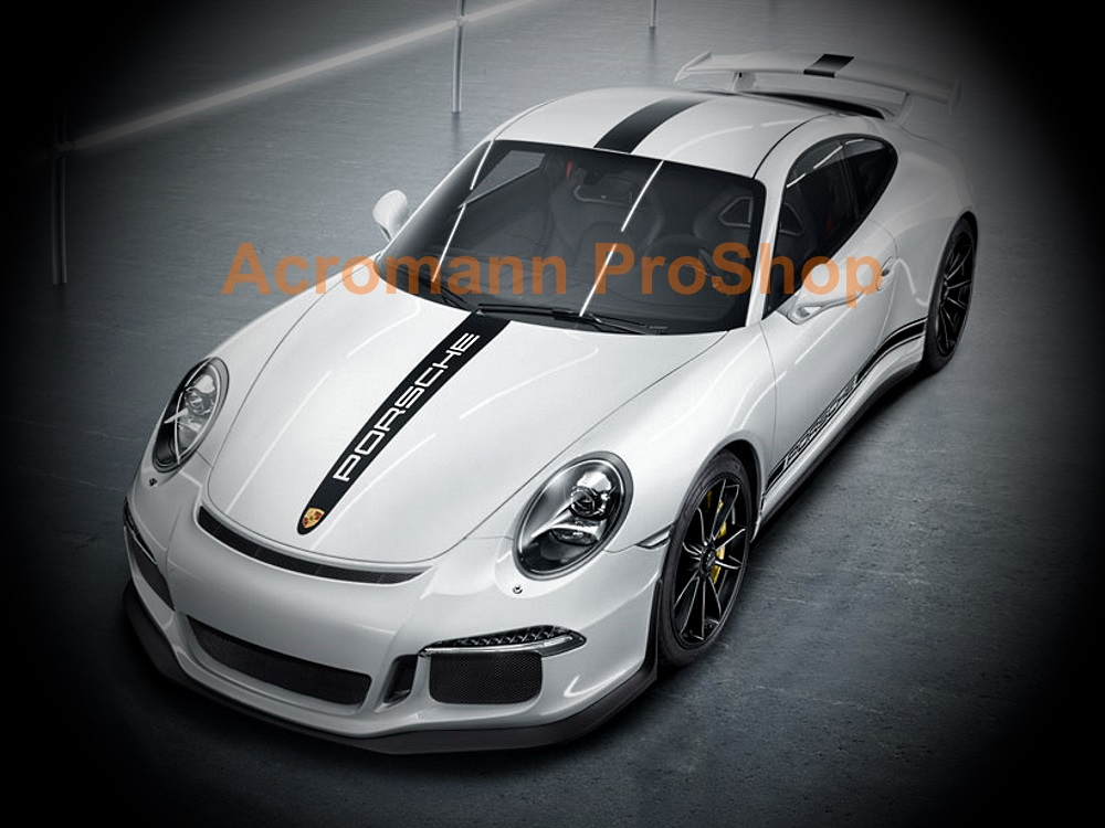 Porsche Motorsport 911 991 GT3 Style Whole Body Stripes x 1 set