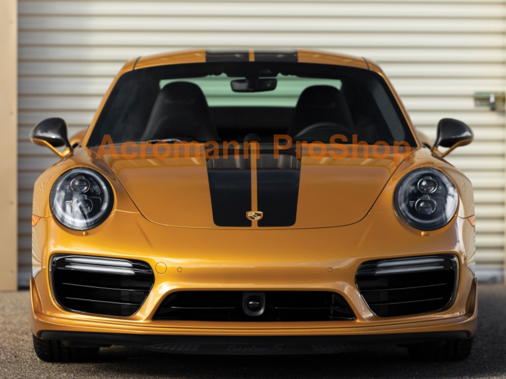 Porsche 911 991 Turbo S Exclusive Series Whole Body Stripes