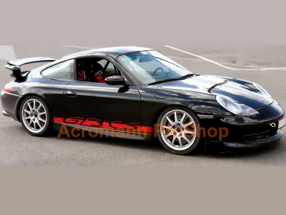 Porsche 911 996 997 GT3 CS Side Stripes Door Decals (Style#1)