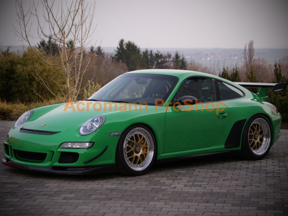 Porsche 911 997.1 GT3 RS Stone Guards Chip Film Clear Bra Decals