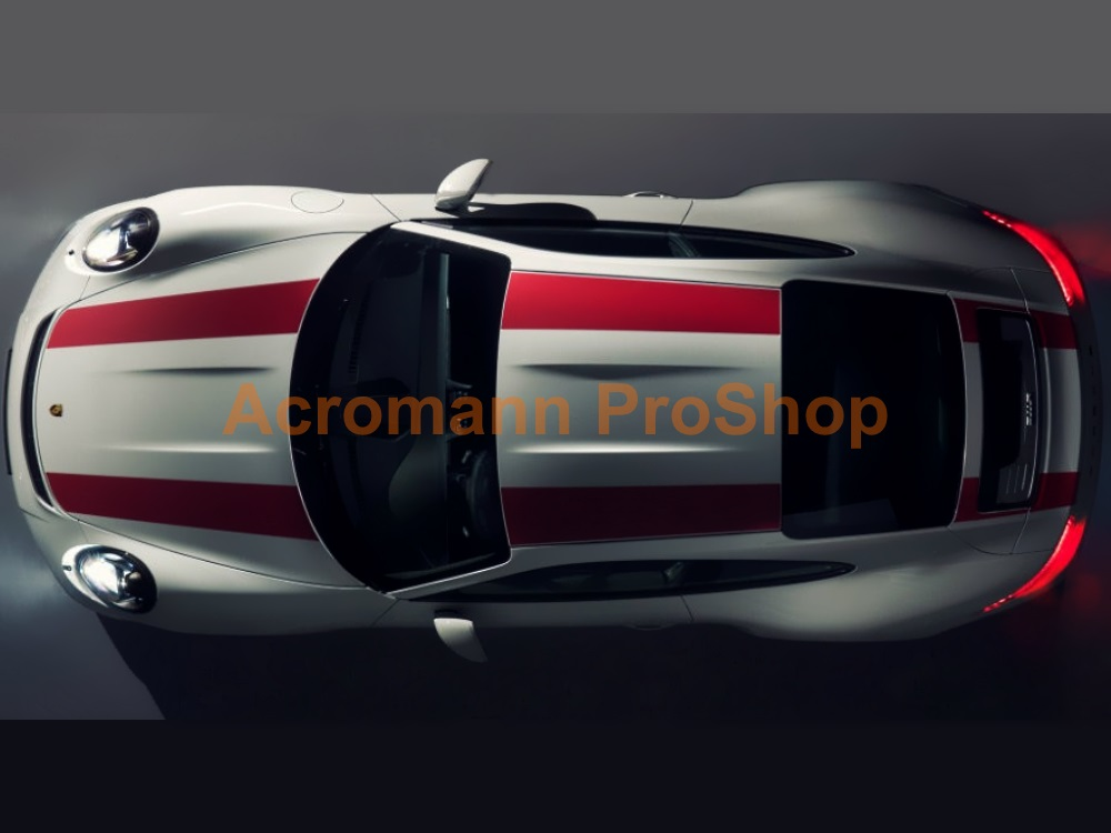 Porsche 911R 991 Whole Body Stripes (Style#1) x 1 set
