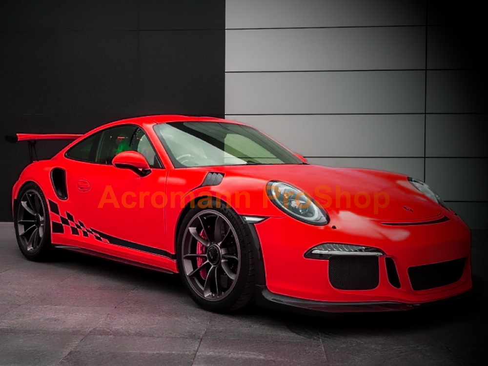 Porsche 911 991 GT3 GT2 RS 3.8 Side Stripes Door Decals(Style#7)