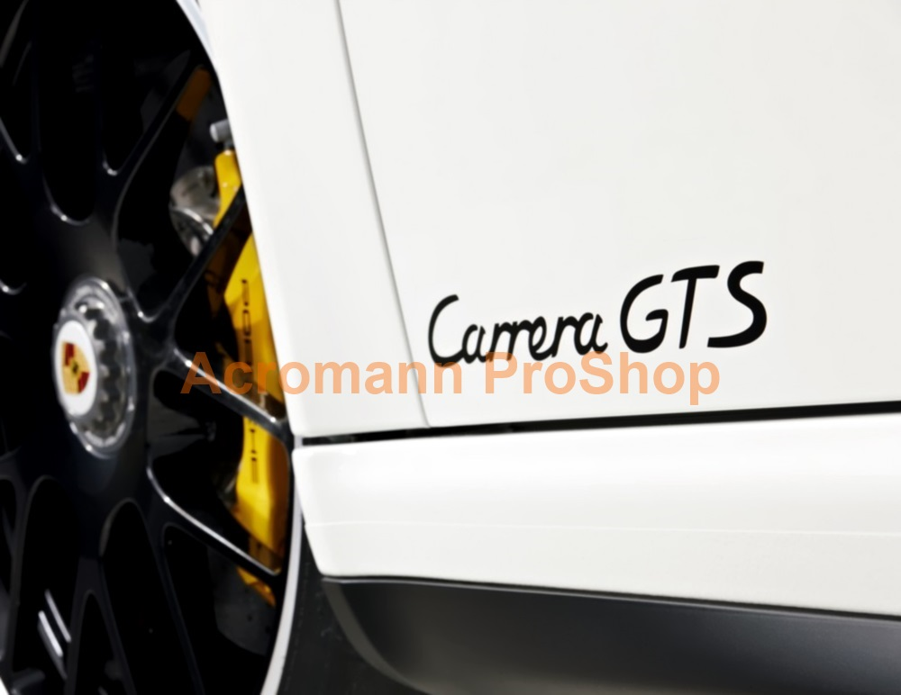 Porsche Carrera GTS Lower Side Door 15inch Decal x 1 pair