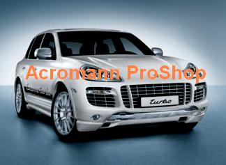 Porsche Cayenne Turbo Side Door Decal (Style#1) x 1 pair