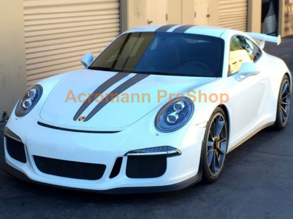 Porsche Cayman Carrera 911 Whole Body Scuderia Stripes (Style#2)