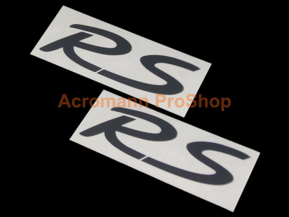 Porsche RS 4inch Decal (Style#3) x 2 pcs