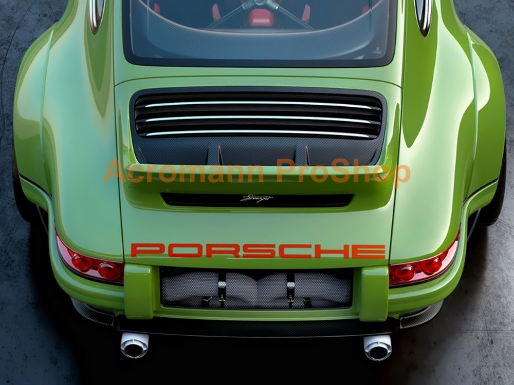 Porsche 911 964 Rear Trunk Decal x 1 pc