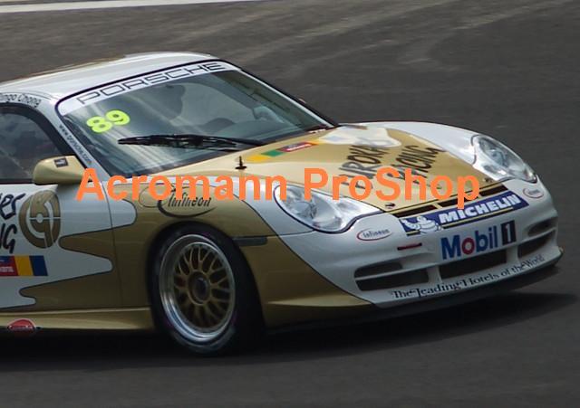 Porsche Windshield Decal Style 1