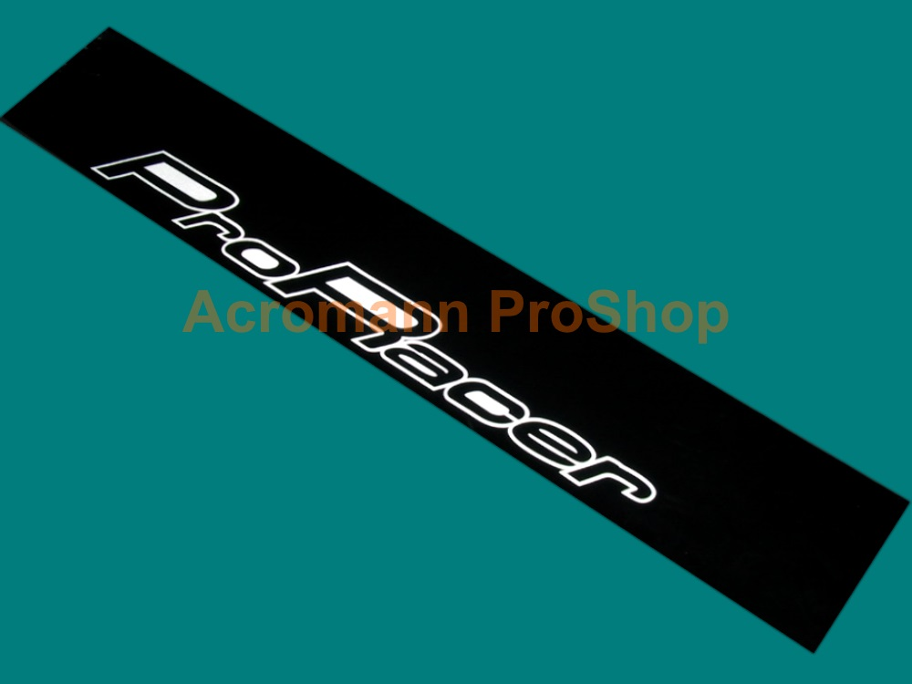 ProRacer (5 Zigen) Windshield Decal (Style#2)