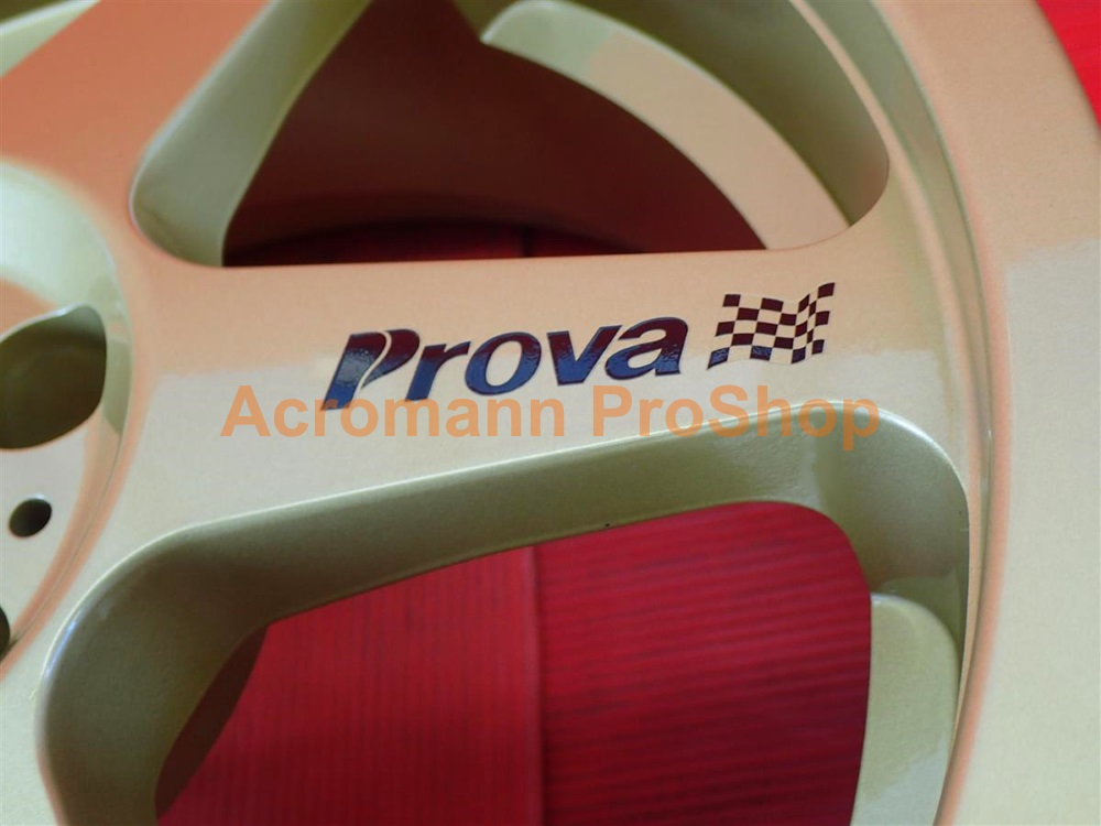 Prova 3inch Alloy Wheel Decal (Style#1) x 4 pcs