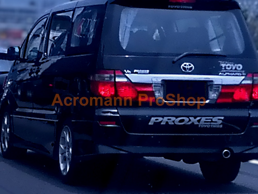 PROXES Toyo Tires Windshield Decal