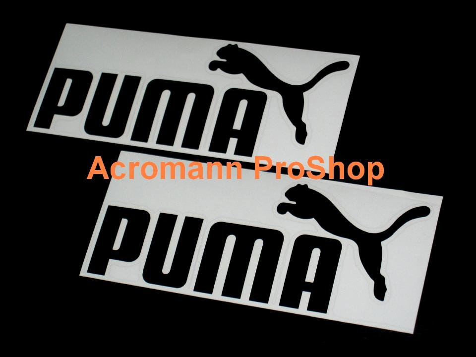 PUMA 6inch Decal x 2 pcs