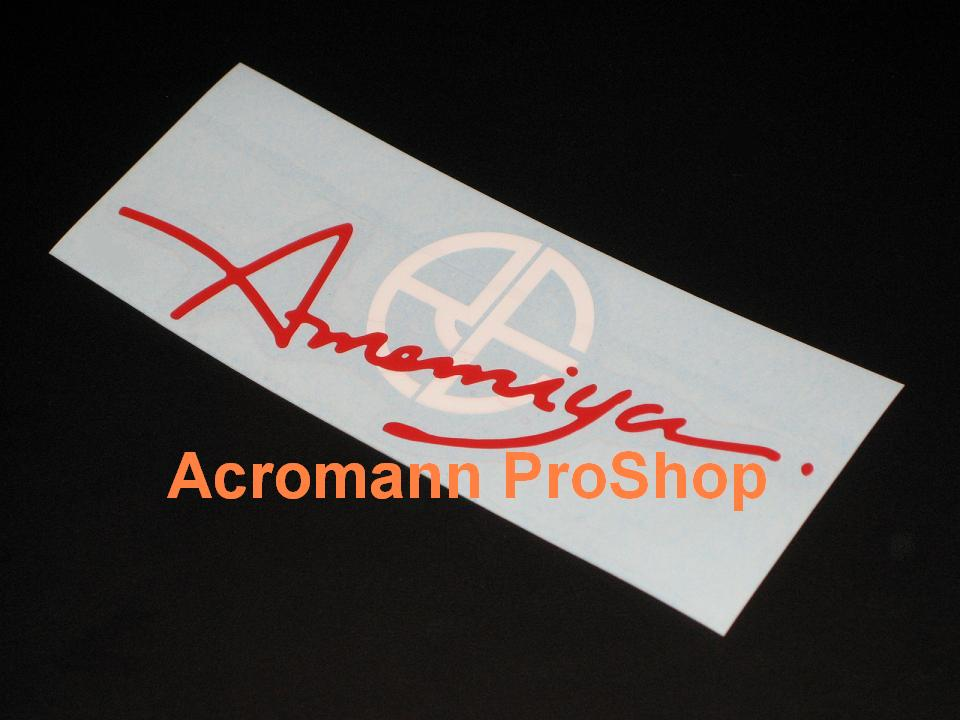 RE Amemiya 6inch Decal (Style#2) x 2 pcs