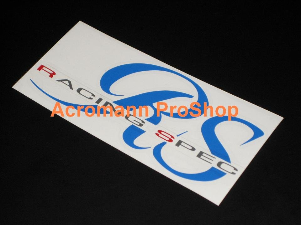 SSR RS Racing Spec 6inch Decal x 2 pcs