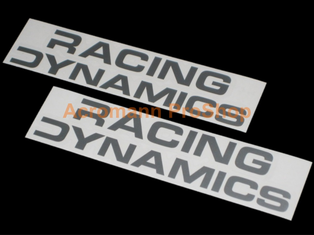 Racing Dynamics 6inch Decal (Style#1) x 2 pcs